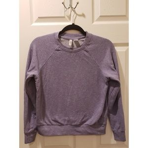 Divided by H&M Purple Crew Neck Long Sleeve Tee